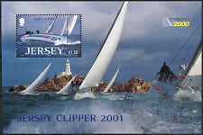 Jersey 2001 SG#MS1006 Round The World Yacht Race MNH M/S #D8068