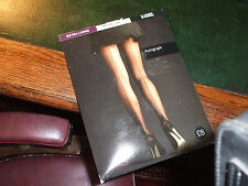 1940's vintage style seamed tights natural tan Extra Large LAND GIRL TEA DANCE