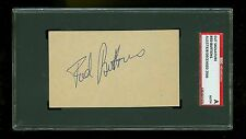 Red Buttons Actor Autographed cut card SGC Authentic Encased