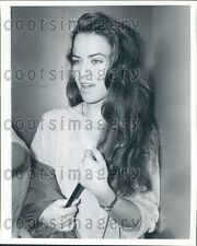 1983 Soft Porn Actress Prince Andrew Girlfriend Koo Stark Press Photo