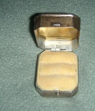 Old Vintage BIRKS STERLING SILVER  PRESENTATION 2 RINGS BOX