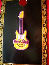 HRC Hard Rock Cafe Glasgow 1.75 Sprayed Metal Core Guitar 2015