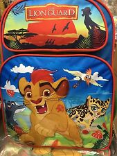 Disney The Lion Guard kion Backpack New!