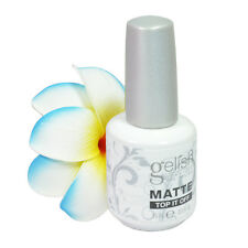Nail Harmony Soak Off Matte Top It Off Gel Nail Polish 0.5floz, 15ml