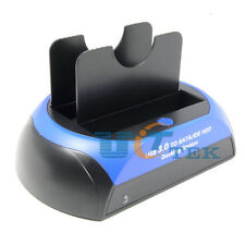 "USB 3.0 HDD Dock to SATA/IDE 3.5inch/2.5"" Hard Drive SSD Docking Station 3TB"