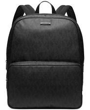 $850 MICHAEL KORS Mens Jet Set LOGO Backpack School Work Briefcase BLACK BAG