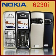 Genuine Unlocked Nokia 6230i - Black & Silver - Manufacturer Direct