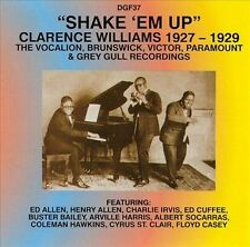 Williams, Clarence-Shake `Em Up - 1927-29  CD NEW