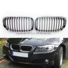 Front Chrome Kidney Grill Grille Hood 4 D Door Saloon For BMW E90 3 Series 09-11