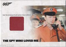 JAMES BOND MISSION LOGS JBR18 STROMBERG'S SUBMARINE CREW UNIFORM RELIC 760/800