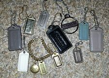 AWESOME LOT OF 11 AUTHENTIC COACH KEYCHAINS FOBS HANGTAG CHARMS!