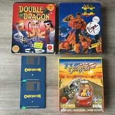 4 Jeux ATARI ST Double Dragon I - II, Out Run Turbo, Castle Warrior (non Testé)