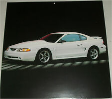 1995 Ford Mustang Cobra ht car print (white)