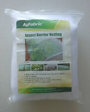 2Pack Agfabric 10'Wx30'L Mosquito Netting Bug Insect barrier Bird Net Barrier