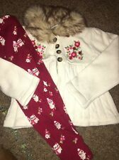 "Gymboree ""COZY OWL"" Outfit. Sweater And Leggings 3T"
