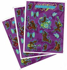 3 Sheets SCOOBY DOO ROCK STAR Scrapbook Stickers! Guitar Drums Rock n Roll