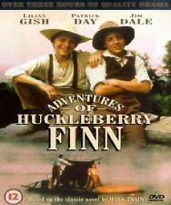 ADVENTURES OF HUCKLEBERRY FINN DVD Patrick Day New Sealed Original UK Release