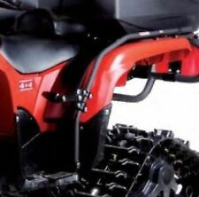 POLARIS SPORTSMAN 550 850 XP HO ATV FENDER GUARD PASSENGER FOOT PEGS DOUBLE RIDE