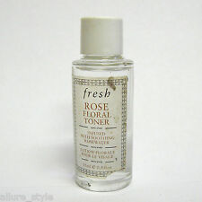 Fresh Rose Floral Toner Infused with Smoothing Rosewater 15 ml TRAVEL SIZE