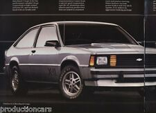1983 Chevrolet Chevy Citation X11 Sales Brochure Book