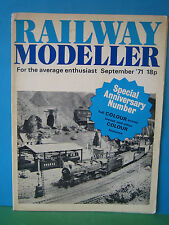 Railway Modeller September 1971 # HO American style layout ~ See Pics