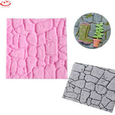 DIY Brick Wall Silicone Fondant Mold Cake Decorating Chocolate Baking Mould