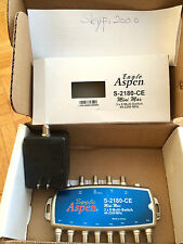 Eagle Aspen 3x8 S-2180-CE Multiswitch & Power Adaptor Brand new