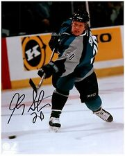 San Jose Sharks GARY SUTER Signed Autographed 8x10 Pic B