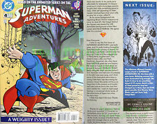 Superman Adventures 4 1st EVER Livewire in Print! Key Issue SuperGirl TV Show!!