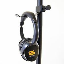 Headphone Hanger Mount - Fits any microphone stand.