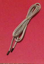 "Bungee shock elastic stretch polyester white cord 3/16"" by per foot; made in USA"