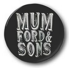 MUMFORD AND SONS LOGO - 1 inch / 25mm Button Badge - Babel I Will Wait Folk