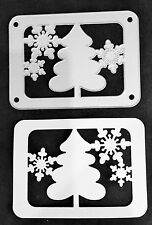 Sizzix Die Cutter  CHRISTMAS TREE & SNOWFLAKES FRAME fits Big Shot Cuttlebug
