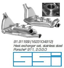 SSI Heat Exchanger Set, Porsche 911 Carb/CIS, 91.911SSI