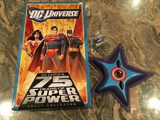 SDCC 2010 DC UNIVERSE JUSTICE LEAGUE STARRO THE CONQUEROR + MASK & SPORES 4 PACK