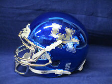 KENTUCKY WILDCATS CHROME Offically Licensed SCHUTT MINI FOOTBALL HELMET