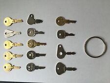 14 Key Aerial Key Set Plant Hire Equipment Keys *FREE POSTAGE*