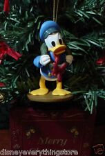 DISNEY MICKEY'S CHRISTMAS CAROL DONALD DUCK AS FRED CUSTOM ORNAMENT NEW
