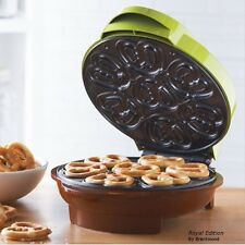 Pretzel Maker 7 Portion Electric Non Stick Surface