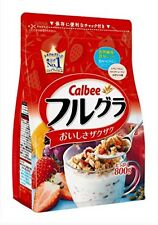 New Calbee Fruit granola 800g From Japan Free Postage s/f