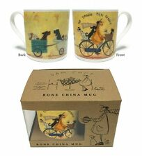 SAM TOFT (THE DOGGIE TAXI SERVICE)   BONE CHINA MUG IN GIFT BOX MGBC23810
