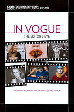 DOCUMENTARY-In Vogue: The Editor`s Eye (hbo) DVD NEW