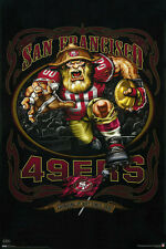 """SAN FRANCISCO 49ERS """"GRINDING IT OUT SINCE 1946"""" FOOTBALL POSTER -  24x36"""