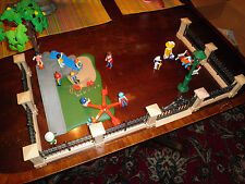 5360 Playmobil Park Set w/ figures Lamp tree for Victorian 5300 Mansion House