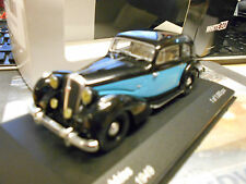 Hotchkiss 686 GS Oldtimer 1949 NERO BLU BLUE NEW NUOVO Ixo WHITE BOX 1:43