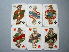 PLAYING CARDS ANTIQUE B DONDORF FRANKFURT WHIST No164 NO INDICE GILDED 1890
