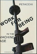 Donald Petacchi~WORK FOR BEING~SIGNED 1ST/DJ~NICE COPY