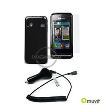 Muvit MUPAK0066 Essentials pack for Samsung S7230E Wave 723 *BNIB*