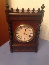 Antique F Kroeber Cabinet No. 12 Mantle Clock