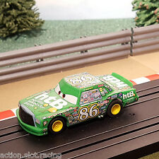 Micro Scalextric Slot Car-Verde Disney Pixar Cars Chick Hicks # 86